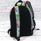 Хит! Стильный рюкзак с принтом Пончики Для путешествий тренировок учебы Vsem, фото 4