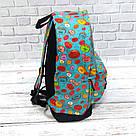 Хит! Стильный рюкзак с принтом Пончики Для путешествий тренировок учебы Vsem, фото 5