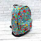Хит! Стильный рюкзак с принтом Пончики Для путешествий тренировок учебы Vsem, фото 7