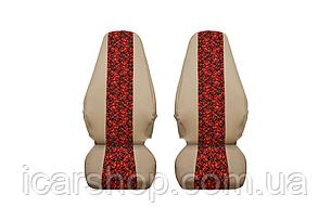 Чехлы на сиденья Volvo FH13 Euro 5 (2 шт.)