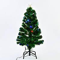 Искусственная новогодняя ёлка светящаяся со звездой С 29333
