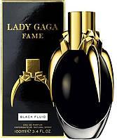 Женская парфюмированная вода Lady Gaga Fame Black Fluid  (100 мл )