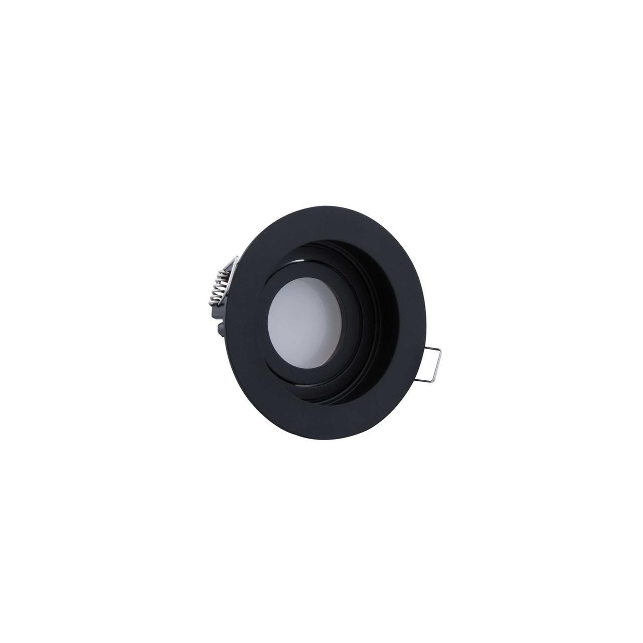 Led спот врезной круг черный TH3529 BK