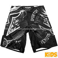 Детские шорты Venum Gladiator Fightshorts Black