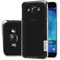 TPU чехол Nillkin для Samsung Galaxy A8 A8000 прозорий, фото 1