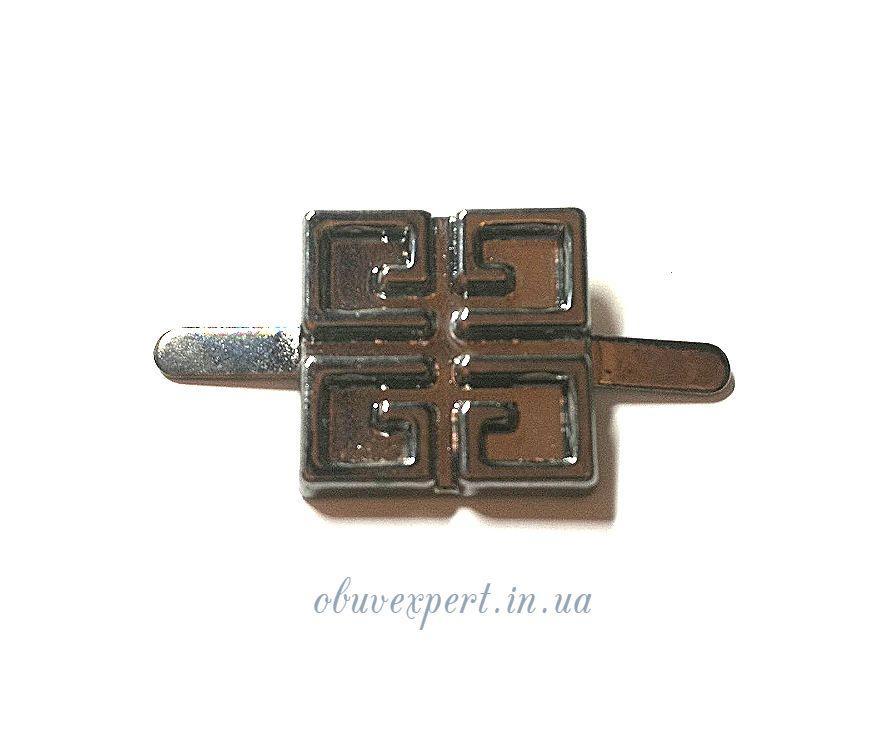Декор мелкий 10*10 мм черный никель