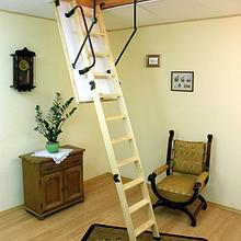 Лестница чердачная складная деревянная Oman Termo S (высота до 280 см)