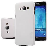 Чехол Nillkin для Samsung Galaxy A8 A8000 белый (+пленка), фото 1