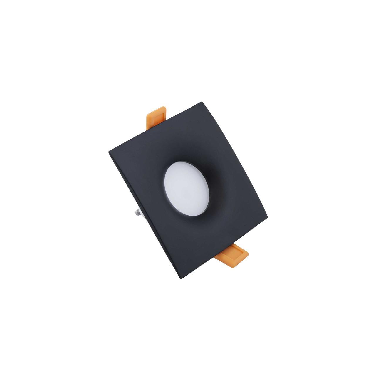 Led спот врезной квадрат черный TH3912 BK
