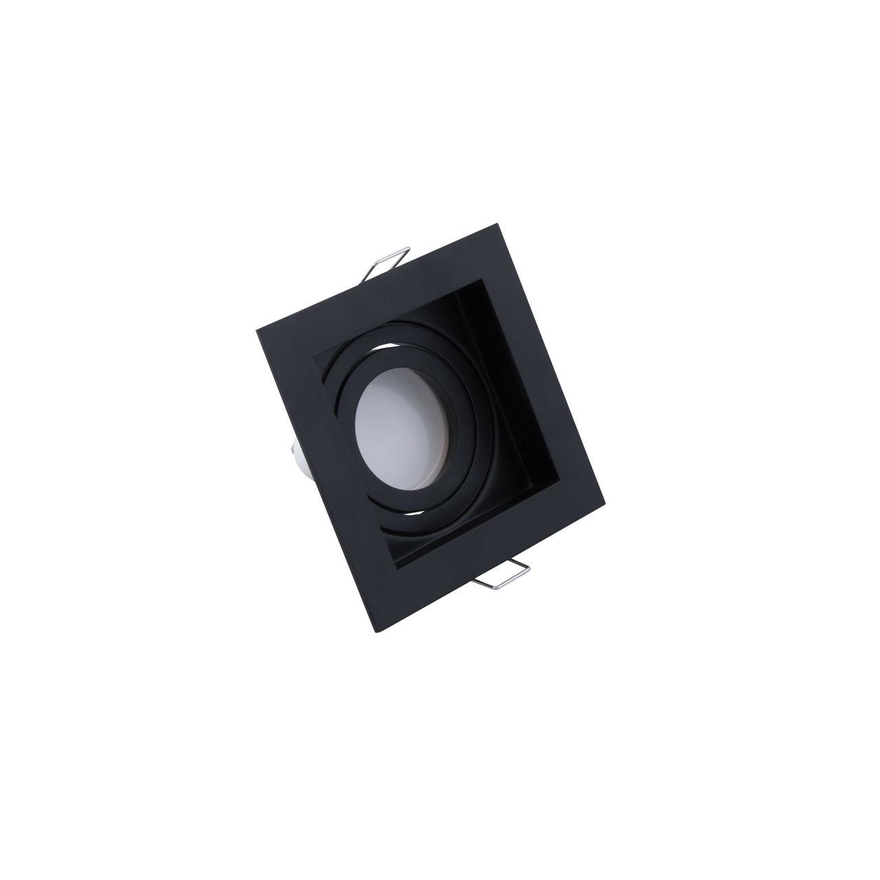 Led спот врезной квадрат черный TH3530 BK