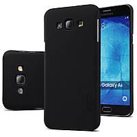 Чохол Nillkin для Samsung Galaxy A8 A8000 чорний (+плівка), фото 1