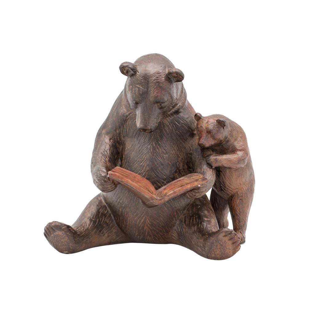 Декор Медведи с книжкой 20см 108883
