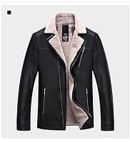 Дубленка мужская, куртка на меху Размер 48