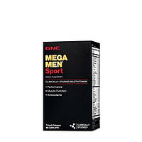 GNC, Витамины Mega Men Sport Timed-release 90 таблеток