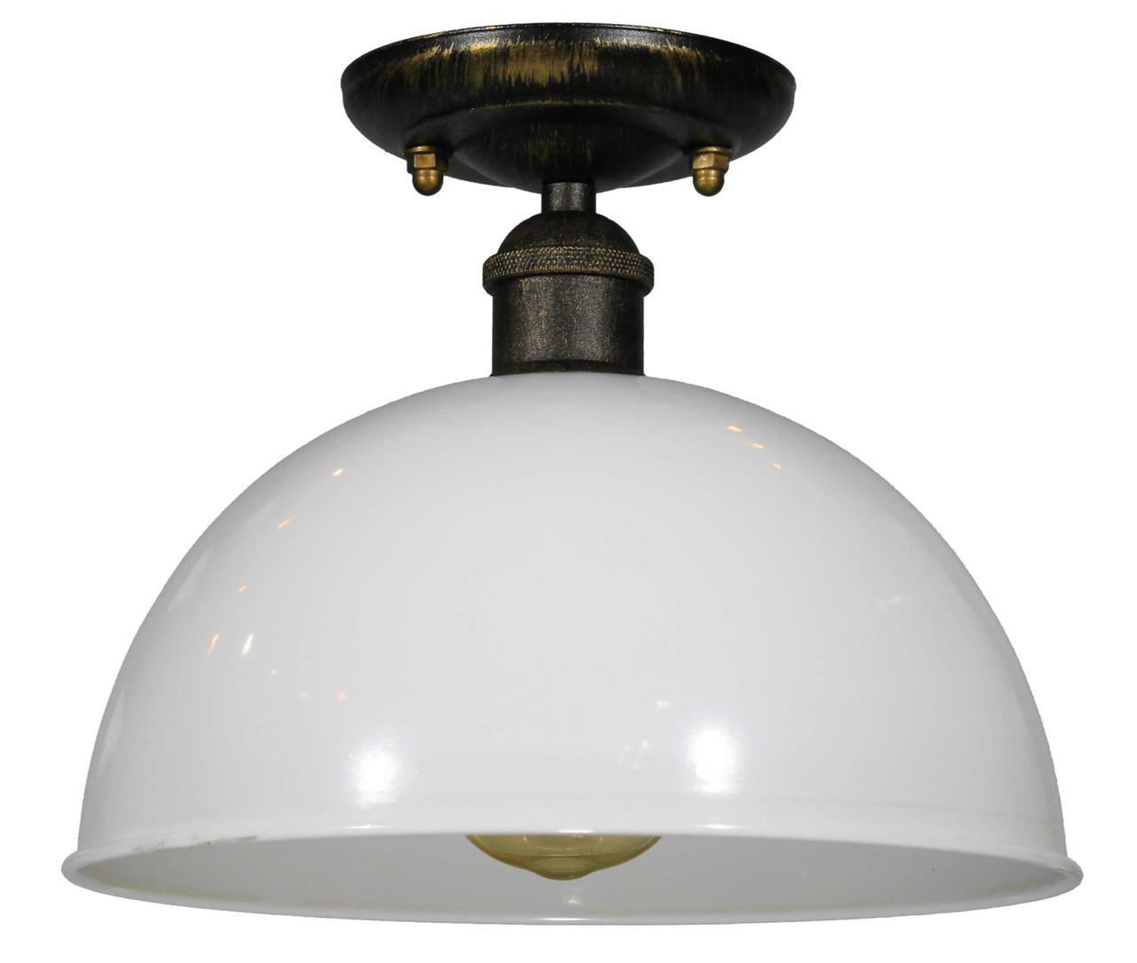 Потолочный светильник Купол белый 260