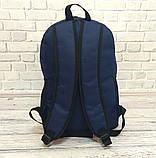 Качественный Рюкзак, портфель с накаткой FILA, фила. Синий / F02, фото 5