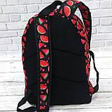 Яркий стильный рюкзак с принтом Арбуз Для путешествий тренировок учебы Рюкзак достаточно вместительный Vsem, фото 2