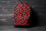 Яркий стильный рюкзак с принтом Арбуз Для путешествий тренировок учебы Рюкзак достаточно вместительный Vsem, фото 8