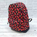 Яркий стильный рюкзак с принтом Арбуз Для путешествий тренировок учебы Рюкзак достаточно вместительный Vsem, фото 9