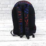 Молодежный рюкзак с принтом Суприм Supreme Для путешествий тренировок учебы Vsem, фото 4