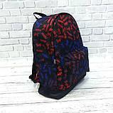 Молодежный рюкзак с принтом Суприм Supreme Для путешествий тренировок учебы Vsem, фото 7
