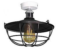 Потолочный светильник Loft 3134-260-1L бело-черный