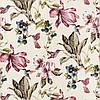 Декоративна тканина рожеві колібрі опыляющие квіти 160145 v38, фото 4