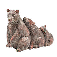 Фигурка Медведи семья 32см 108550