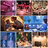 Изменяющие цвет беспроводные светодиодные светильники Magic Lights (комплект из 3х штук), подсветка для дома/, фото 4
