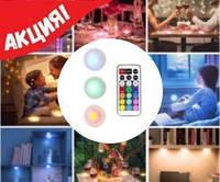 Беспроводные светильники для дома Magic Lights подарят Вам Новогоднее настроение! (комплект из 3х штук), фото 1
