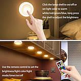 Беспроводные светильники для дома Magic Lights подарят Вам Новогоднее настроение! (комплект из 3х штук),, фото 5