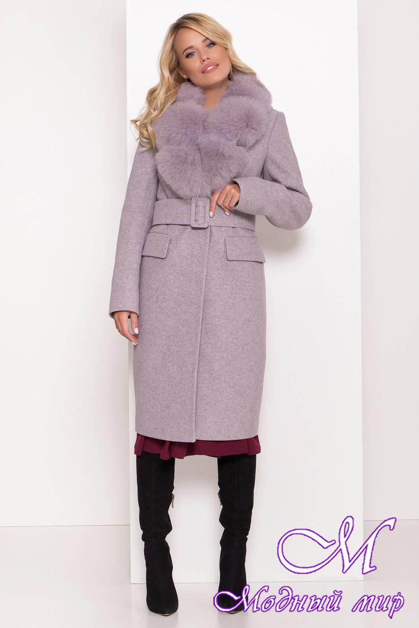 Жіноче зимове пальто з великим хутром (р. S, M, L) арт. Л-81-49/44104
