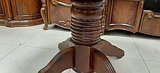 Стол обеденный круглый CHDT-4260-SPB Green River Wood (GR),   Evrodim, фото 3