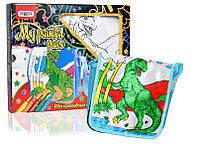 Набор для творчества Сумка-раскраска - Динозавр 2039 Strateg - 219393