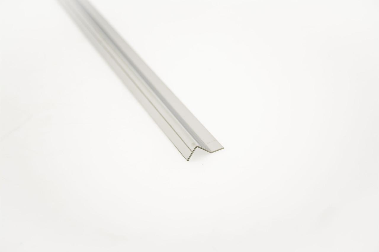 Профиль Z образный- ответная часть для крепления к стене под магнит 90°