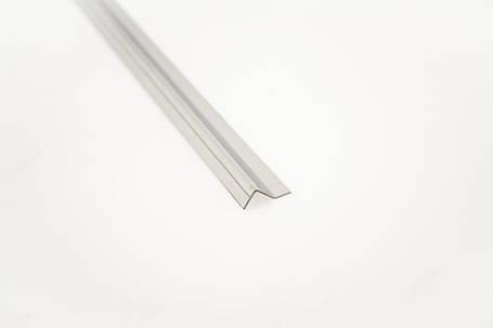 Профиль Z образный- ответная часть для крепления к стене под магнит 90°, фото 2