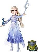 Набор Фрозен 2 кукла Эльза тролль и саламандра Сказочная история Disney Frozen 2 Elsa