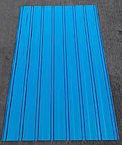 Профнастил оцинкованный Блю, ПС-10 толщина 0,20 мм высота 1,75 м Х 0,95м, фото 2