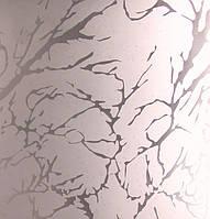 Узорчатое рифленное стекло Гранит бронза 4мм