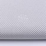 """Лоскут ткани №227а """"Шпильки"""" с графитовыми точками на сером, размер 49*80 см, фото 3"""