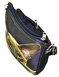 Джинсовая сумка СИАМКА, фото 3