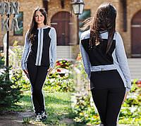 Женский спортивный костюм спереди на змейке , фото 1