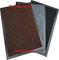 Коврик от грязи влаговпитывающий ворсовой на резиновой основе Полиамид 80*120 см
