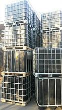 Еврокуб (IBC контейнер) 1000л черный б/у