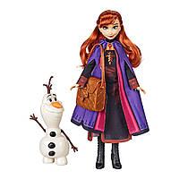 Набор Холодное сердце 2 кукла Анна и Олаф Сказочная история Фрозен 2 Disney Frozen 2, фото 1
