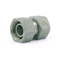 Прямое поворотное соединение (сталь) Hydroflex 1015-0, фото 1