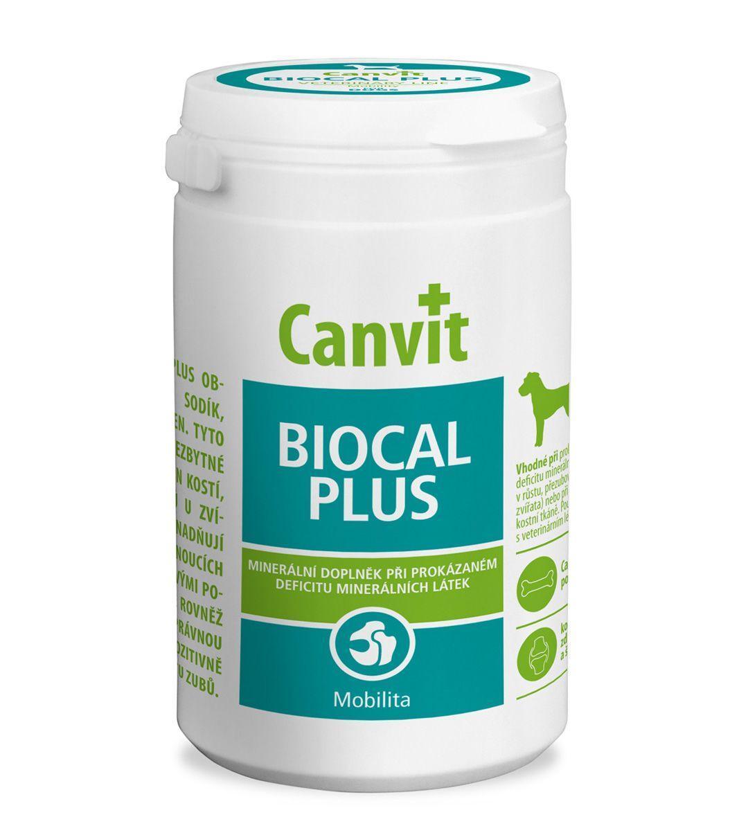 Кальций Canvit Biocal Plus для собак таблетки 230шт