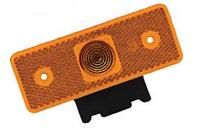 Фонарь габаритный LED, желтый, с кронштейном (боковой) продажа кратно 12шт
