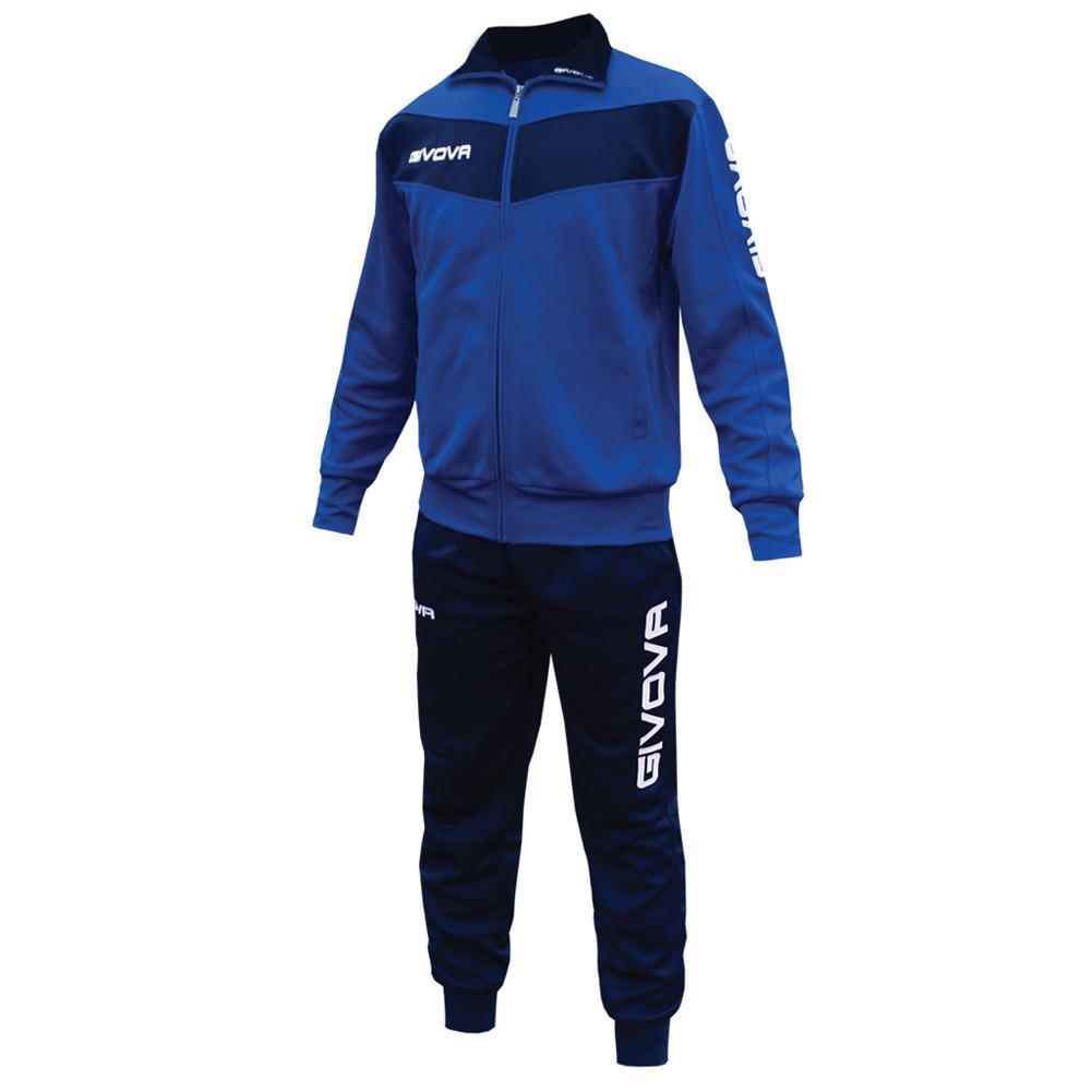 Спортивный костюм Givova Tuta Visa (темно-синий / синим) - Оригинал