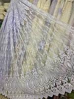 Шикарная тюль на окно с полной обработкой от производителя, фото 1
